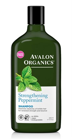 AVALON ORGANICS STRENGTHENING PEPPERMINT GÜÇLENDİRİCİ ŞAMPUAN 325ML