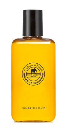 CRABTREE & EVELYN ŞAMPUAN&DUŞ JELİ INDIAN SANDALWOOD 300ML