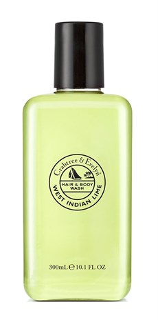 CRABTREE & EVELYN ŞAMPUAN&DUŞ JELİ WEST INDIAN LIME 300ML